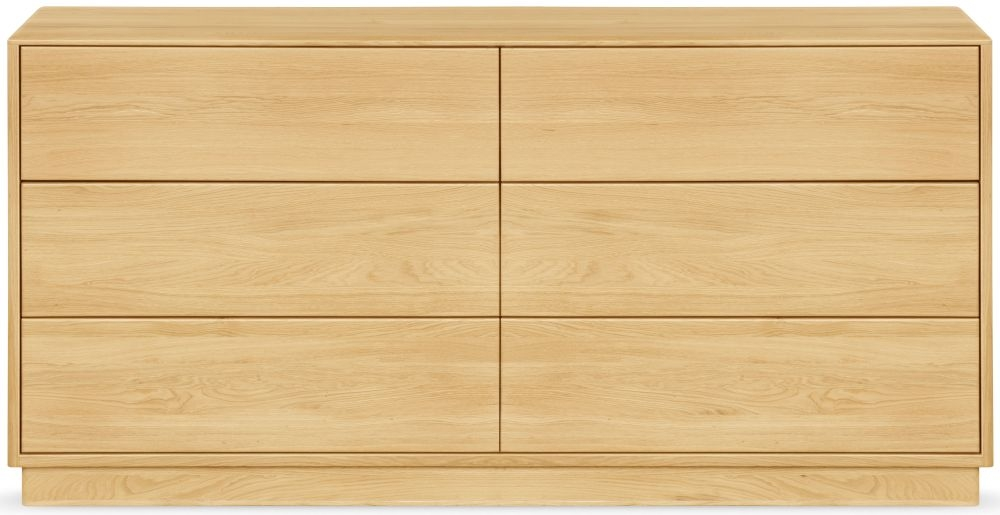 Clemence Richard Portofino Oak 6 Drawer Chest