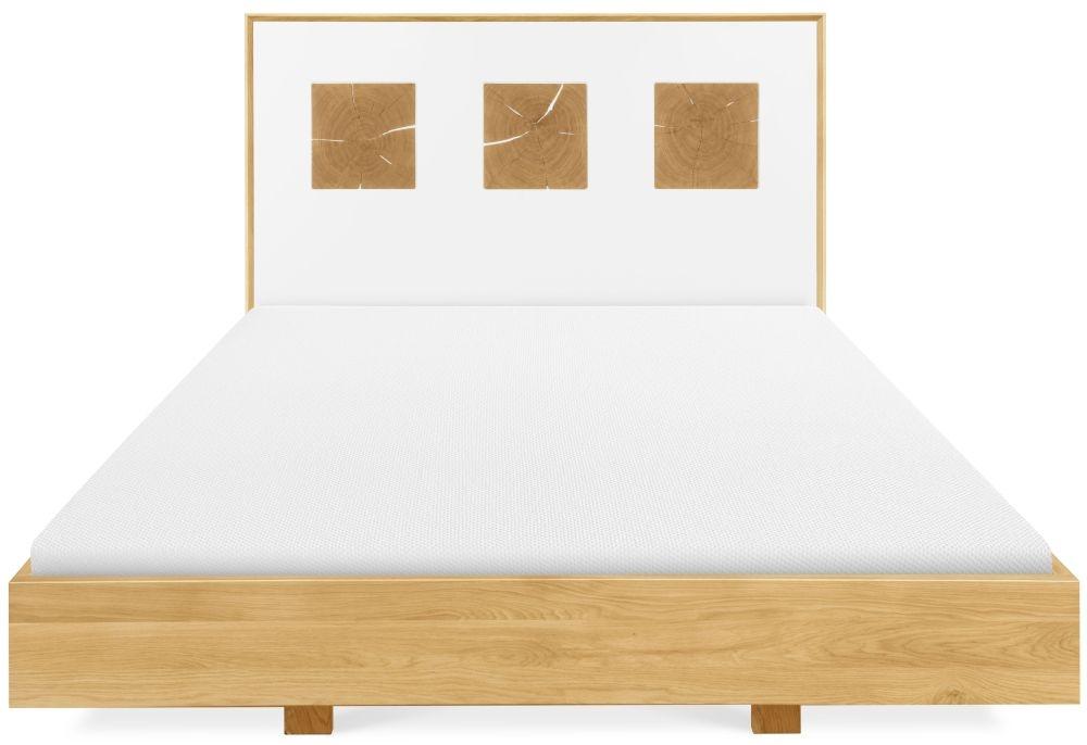 Clemence Richard Portofino Oak Bed - 921B