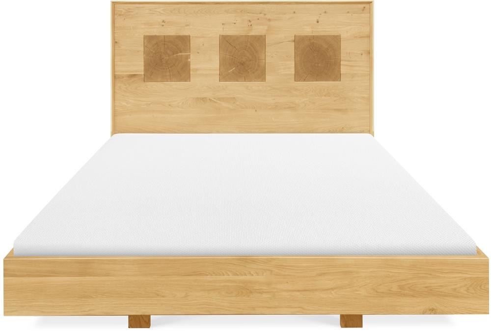 Clemence Richard Portofino Oak Bed - 921C