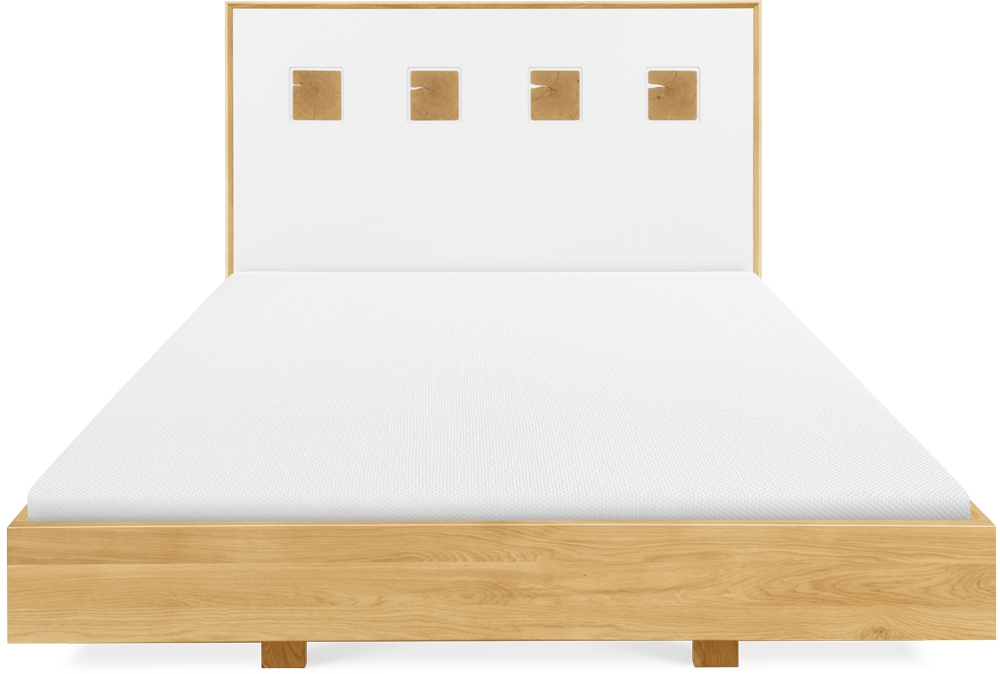 Clemence Richard Portofino Brushed Oak Bed - 921E