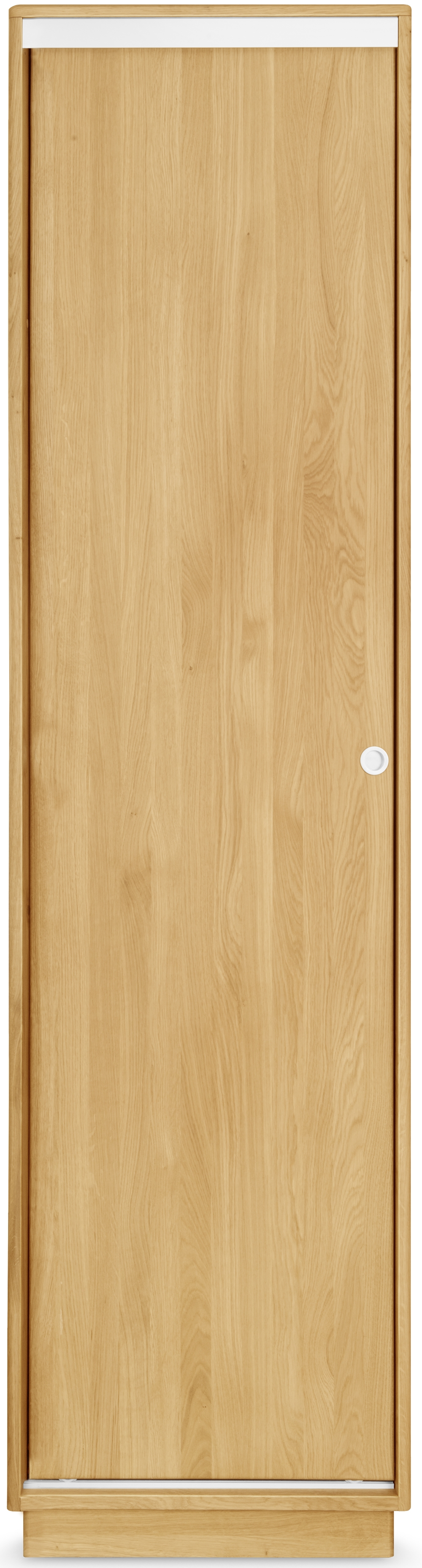 Clemence Richard Portofino Brushed Oak Wardrobe - 1 Door