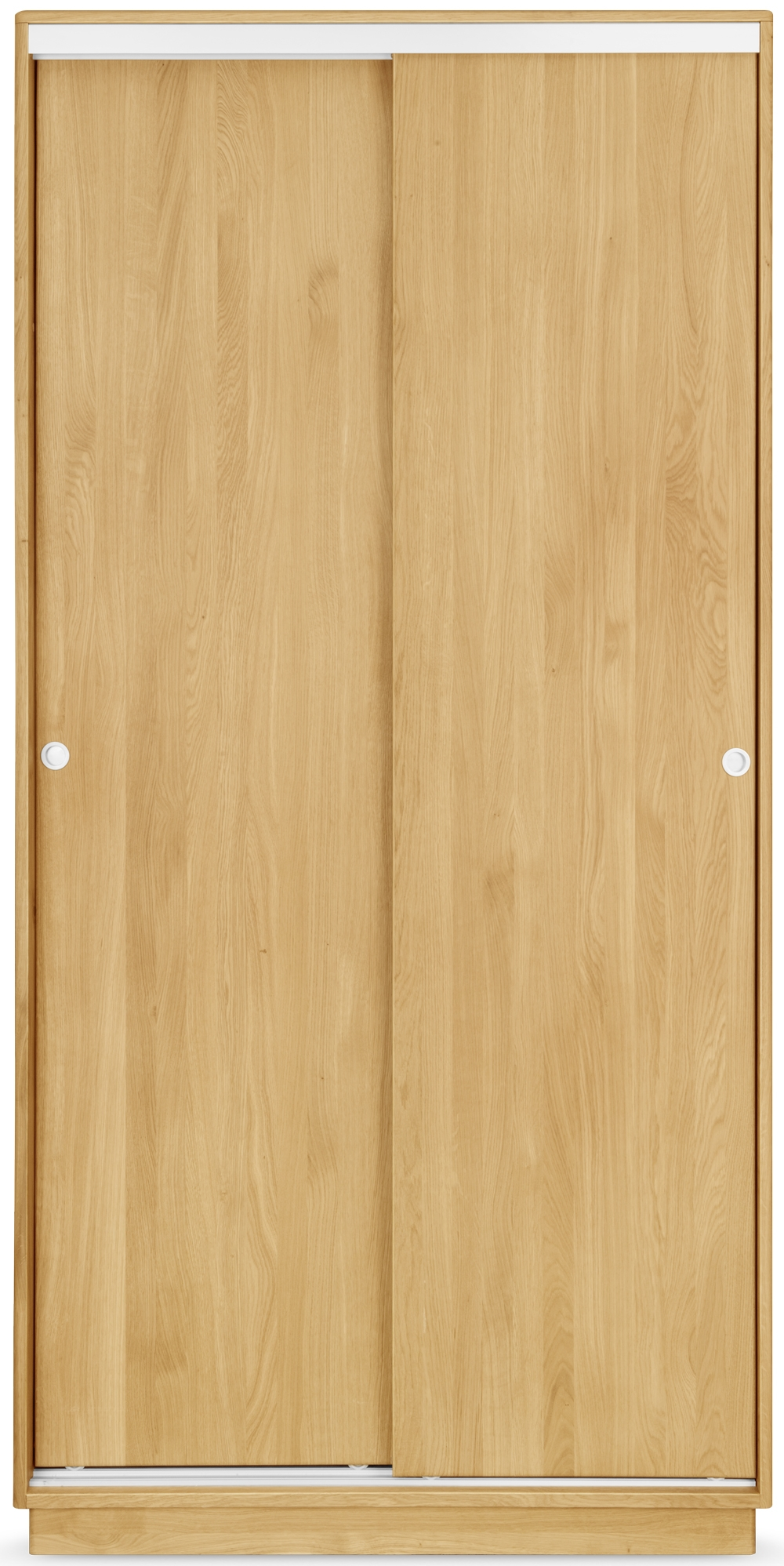 Clemence Richard Portofino Brushed Oak 2 Door Sliding Wardrobe