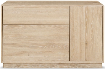 Clemence Richard Portofino Oak 1 Door Combi Sideboard