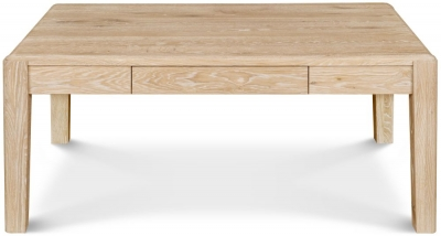 Clemence Richard Portofino Oak Storage Coffee Table