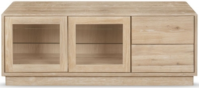 Clemence Richard Portofino Oak Large TV Unit