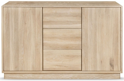 Clemence Richard Portofino Oak 2 Door Combi Wide Sideboard