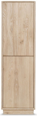 Clemence Richard Portofino Oak 2 Door Display Cabinet - 905A