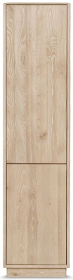 Clemence Richard Portofino Oak 2 Door Display Cabinet - 906A