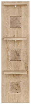 Clemence Richard Portofino Oak Narrow Shelf