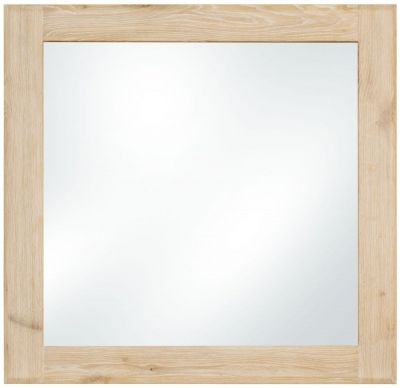 Clemence Richard Portofino Oak Square Mirror - 80cm x 80cm