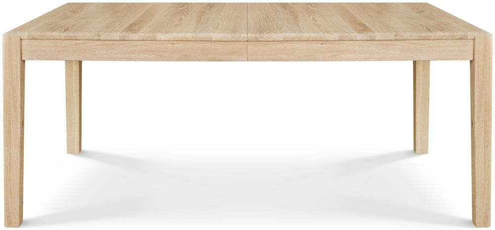 Clemence Richard Portofino Oak Rectangular Extending Dining Table - 135cm-185cm