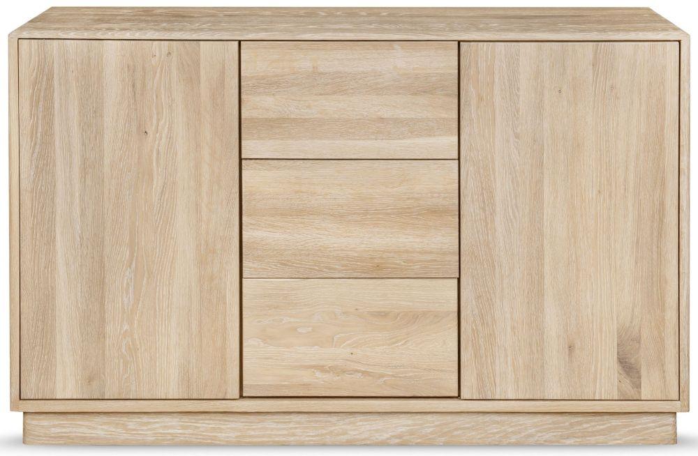 Clemence Richard Portofino Oak 2 Door Combi Sideboard