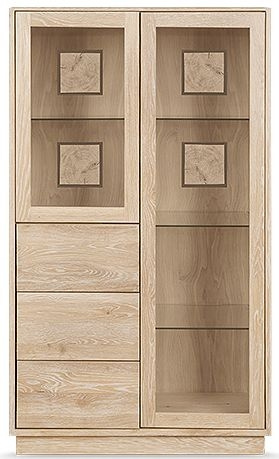 Clemence Richard Portofino Oak Display Cabinet Type 900A