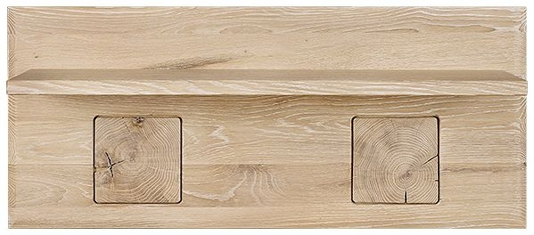 Clemence Richard Portofino Oak Medium Shelf