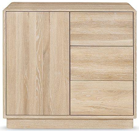 Clemence Richard Portofino Oak Small Sideboard