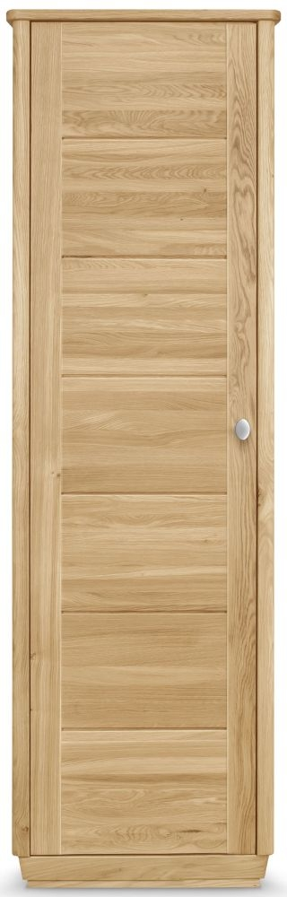Clemence Richard Sofia Oak 1 Door Wardrobe