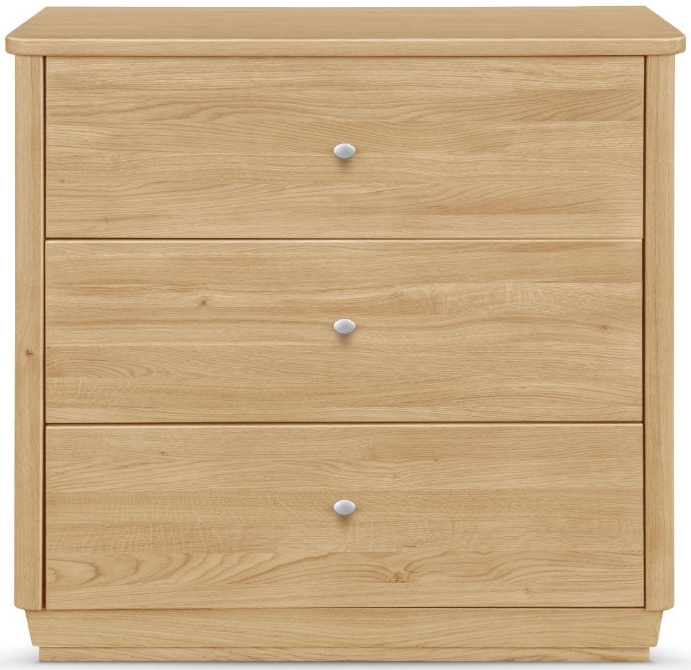 Clemence Richard Sofia Oak 3 Drawer Sideboard