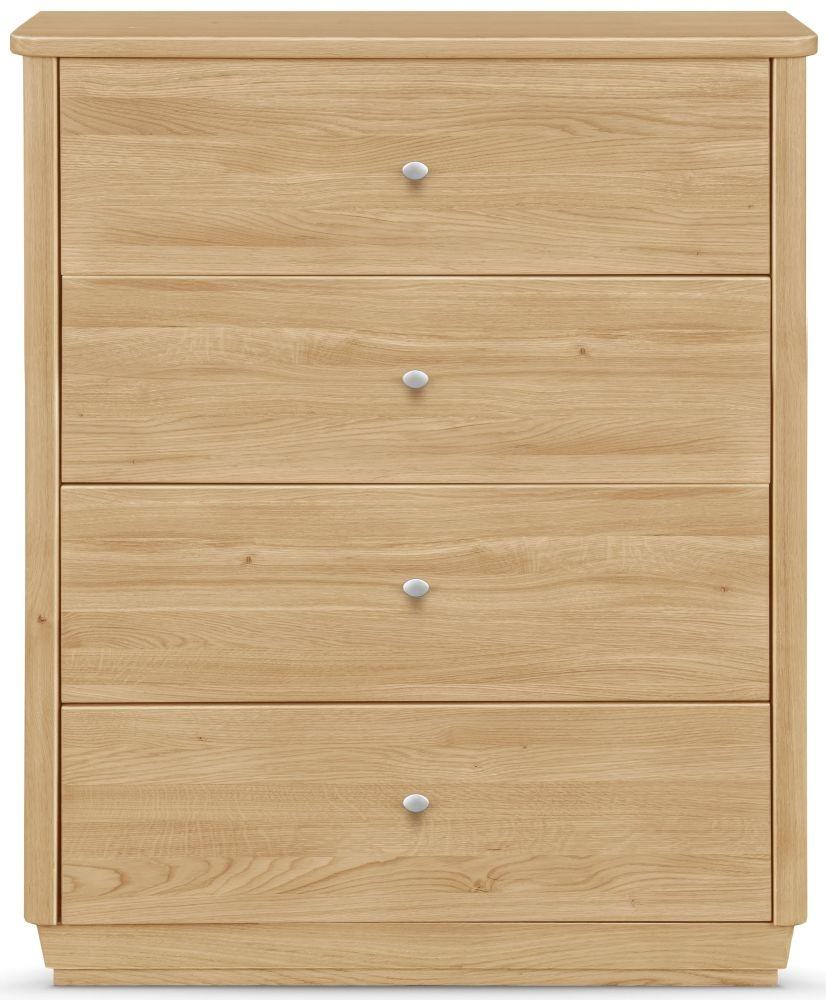 Clemence Richard Sofia Oak 4 Drawer Sideboard