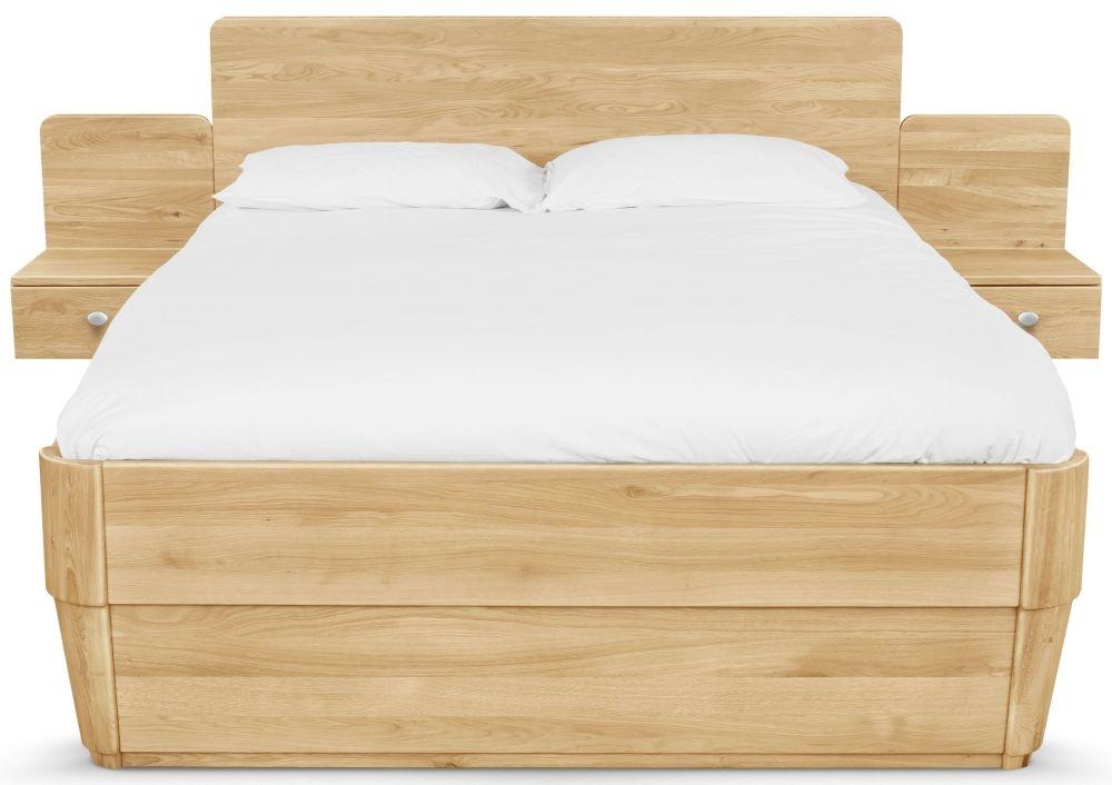 Clemence Richard Sofia Oak Storage Bed