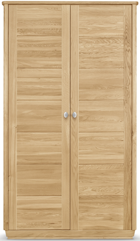 Clemence Richard Sofia Oak Wardrobe - 2 Doors