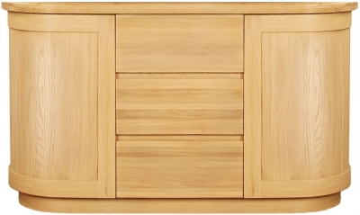 Clemence Richard Sorento Oak Sideboard