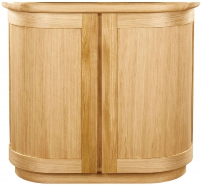 Clemence Richard Sorento Oak Narrow Sideboard