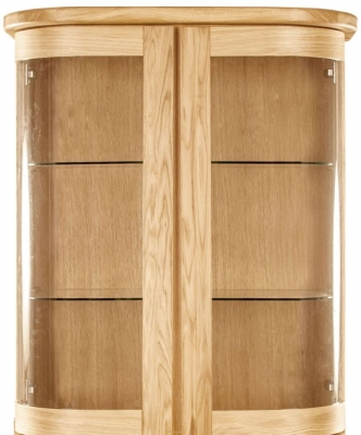 Clemence Richard Sorento Oak Narrow Sideboard Top