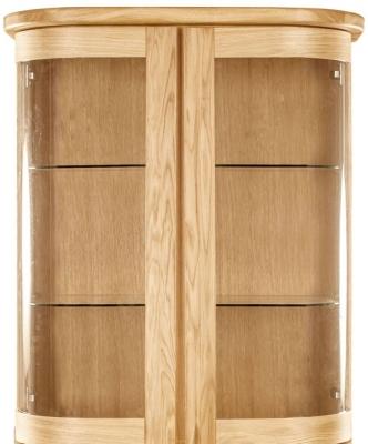 Clemence Richard Sorento Oak Narrow Sideboard Top