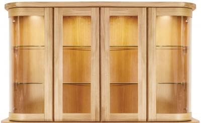 Clemence Richard Sorento Oak Wide Sideboard Top