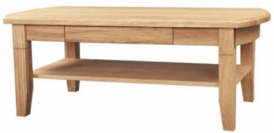 Clemence Richard Sorento Oak Coffee Table