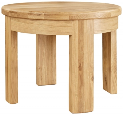 Clemence Richard Sorento Oak Lamp Table