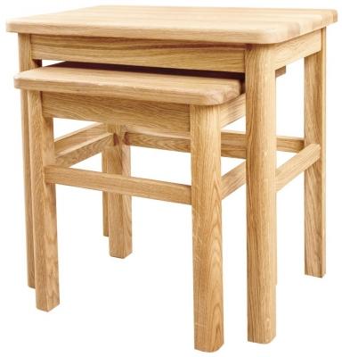 Clemence Richard Sorento Oak Nest of Tables