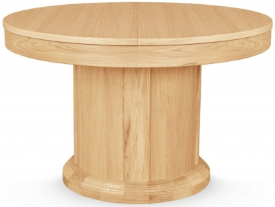 Clemence Richard Sorento Oak Round Dining Table