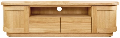 Clemence Richard Sorento Oak TV Cabinet 7585