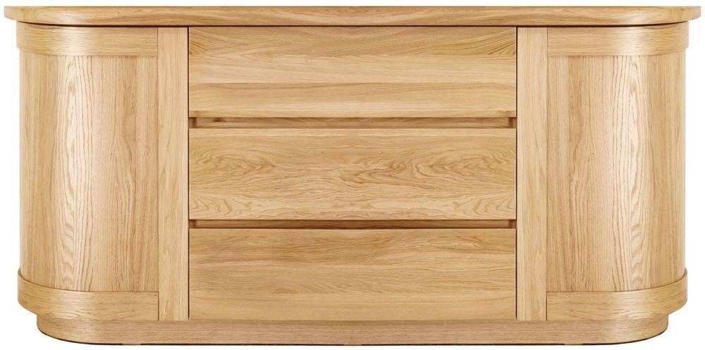Clemence Richard Sorento Oak Wide Sideboard