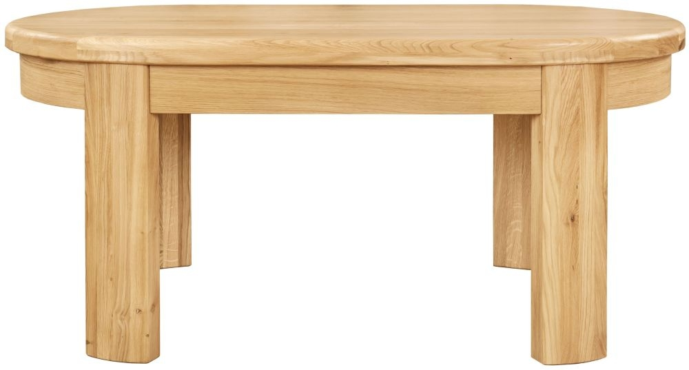 Clemence Richard Sorento Oak Coffee Table 7586