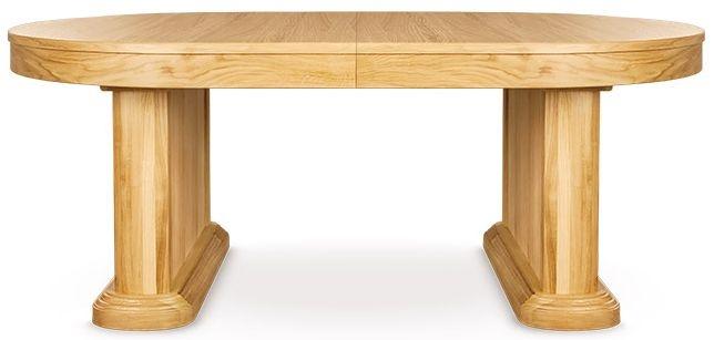 Clemence Richard Sorento Oak Dining Table with 50cm Leaf