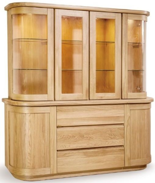 Clemence Richard Sorento Oak Large Dresser
