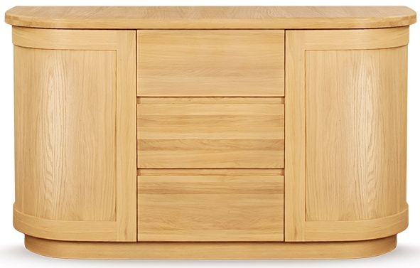 Clemence Richard Sorento Oak Large Sideboard Type 7510
