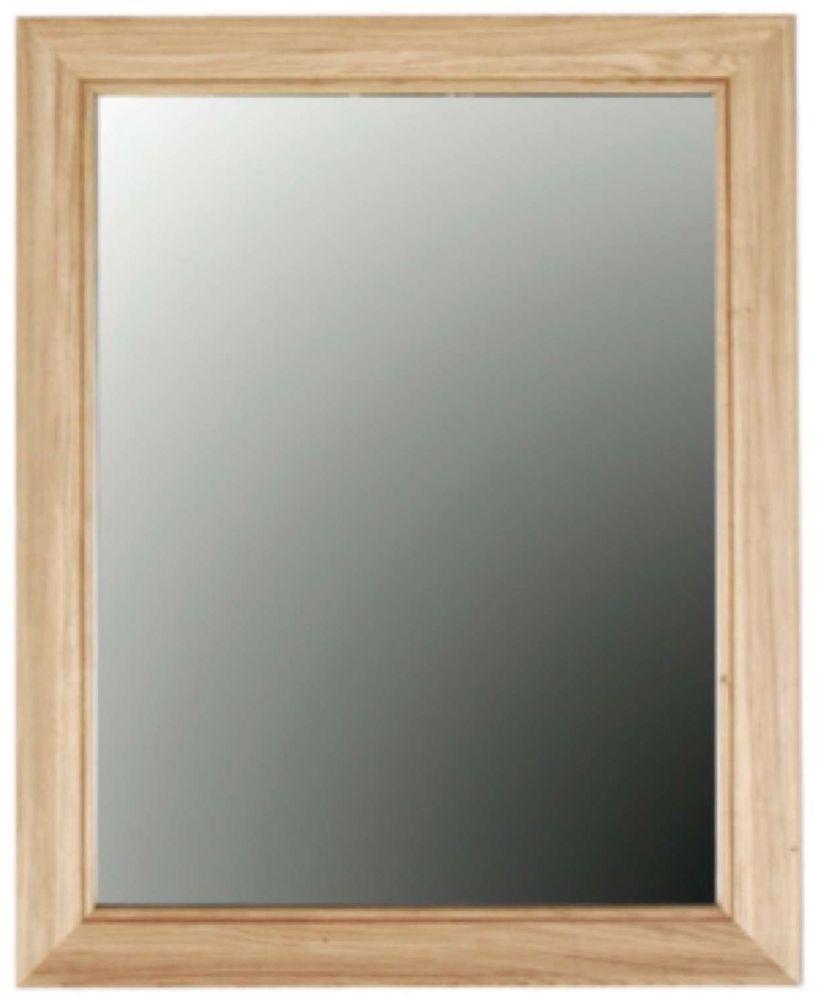 Clemence Richard Sorento Oak Rectangular Mirror - 80cm x 126cm