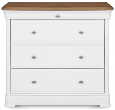 Clemence Richard Tuscany Painted Oak 4 Chest of Drawer