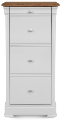 Clemence Richard Tuscany Painted Oak 4 Drawer Filing Cabinet