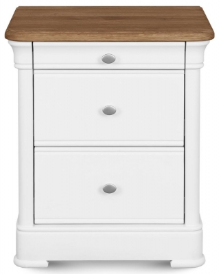 Clemence Richard Tuscany Painted Oak Bedside Cabinet