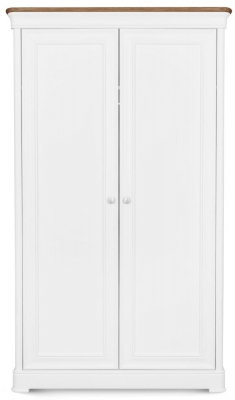 Clemence Richard Tuscany Painted Oak Double Wardrobe