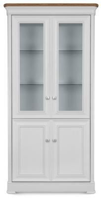 Clemence Richard Tuscany Painted Oak Glazed Display Cabinet