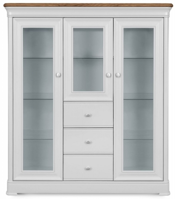 Clemence Richard Tuscany Painted Oak Highboard