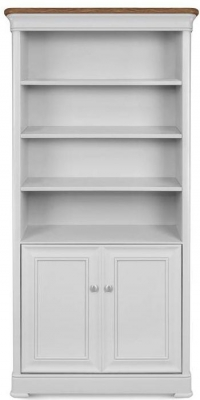 Clemence Richard Tuscany Painted Oak Large Bookcase