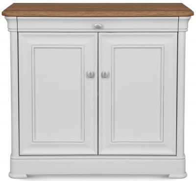Clemence Richard Tuscany Painted Oak Narrow Sideboard