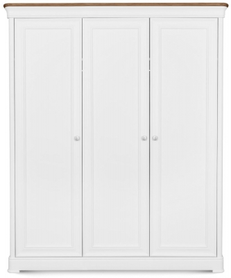 Clemence Richard Tuscany Painted Oak Triple Wardrobe