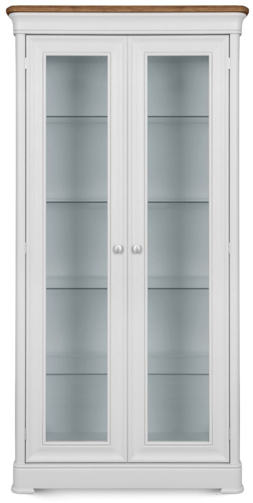 Clemence Richard Tuscany Painted Oak Display Cabinet